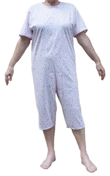pigiamone corto donna